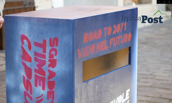 Una capsula del tempo per il 2071: Calitri seppellisce la pandemia (video)