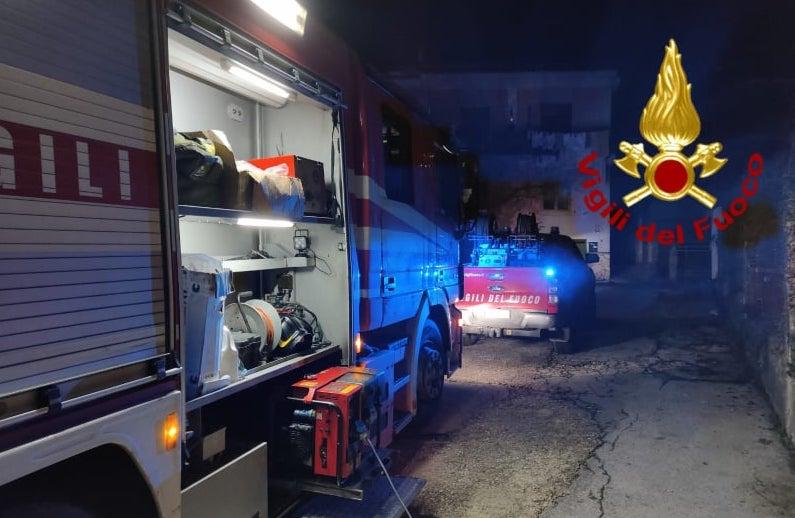 Monteforte, abitazione a fuoco: un morto e un ferito