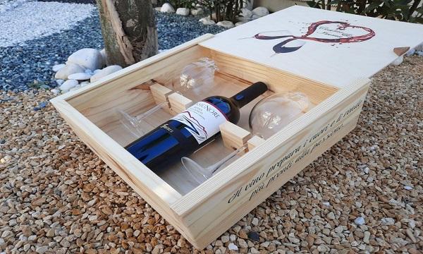 Cantina Aminea dedica agli innamorati la 'Valentine Wine Box'