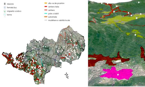 Alta Irpinia, uno studio toscano realizza la mappa di comunità