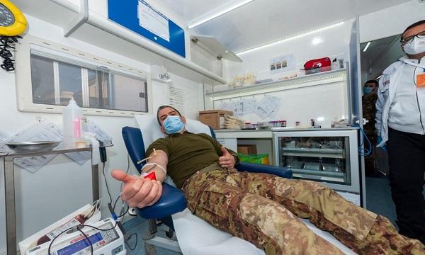 Esercito: donazioni di sangue per il 'Moscati' di Avellino