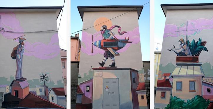L'arte urbana porta nuova energia adAriano Irpino