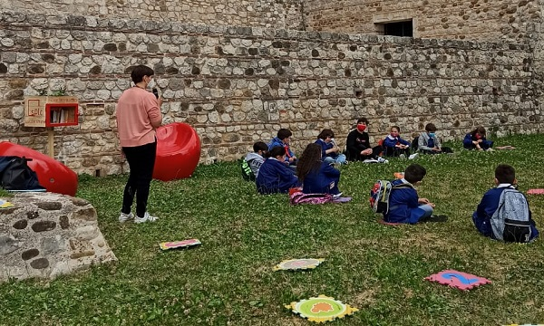 Sant'Angelo dei Lombardi: inaugurata la libreria urbana per bambini