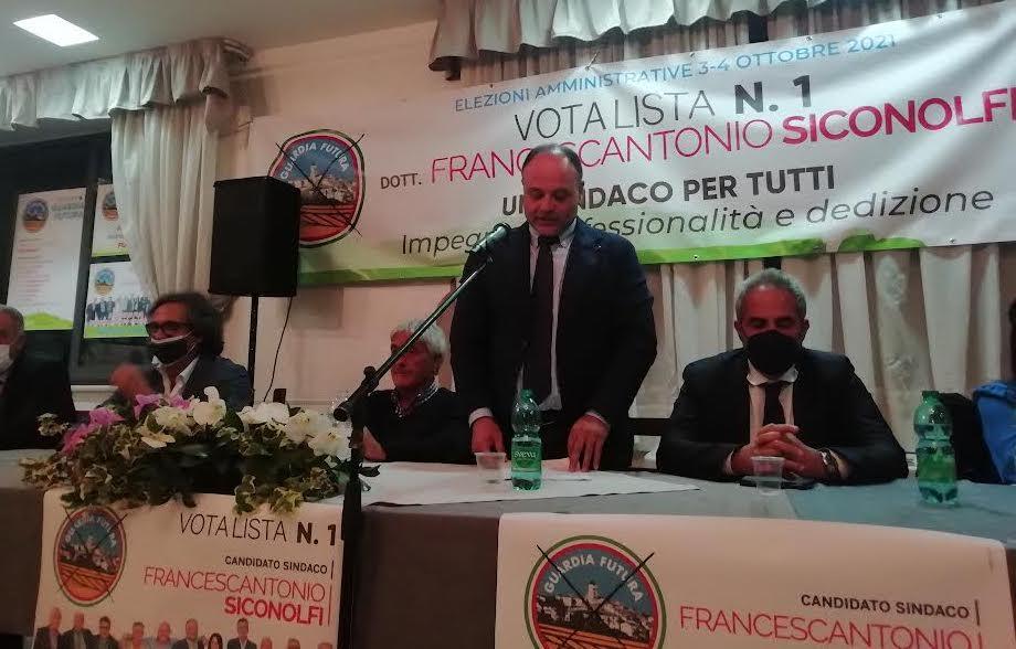 Guardia Lombardi, Alaia e Petracca a sostegno di Siconolfi