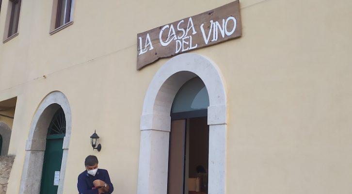 Castelfranci in festa per la nuova 'Casa del vino'